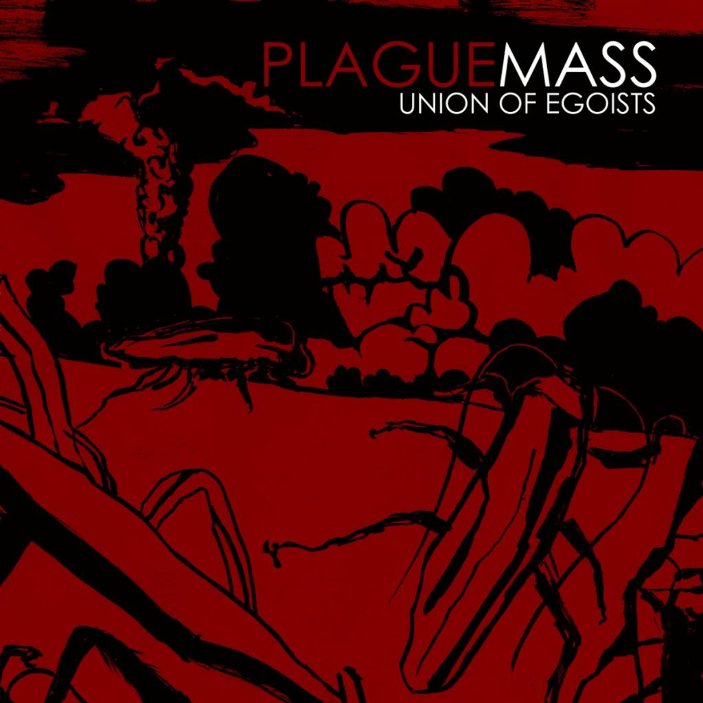 Plague Mass Band Music Union of Egosists Album Artwork