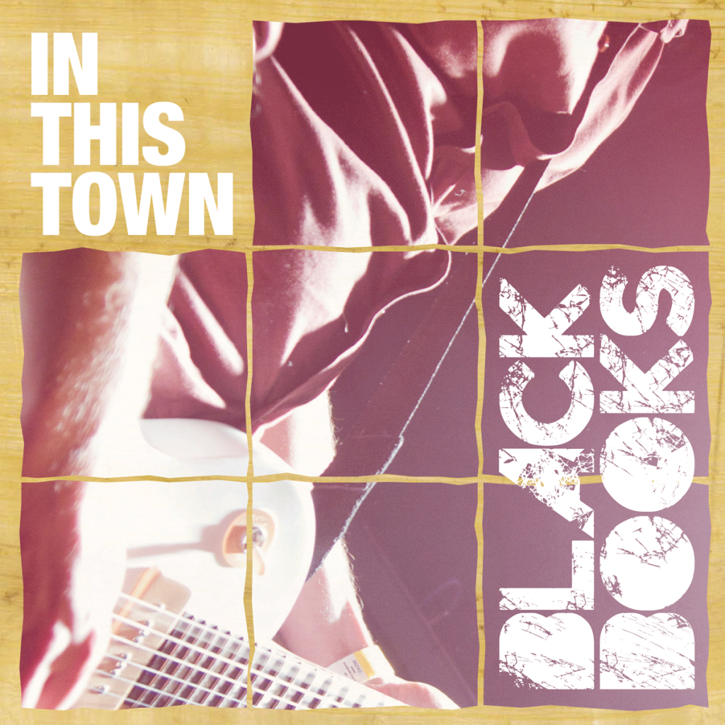 Black Books Band Music Austria Europe In This Town Single Vinyl Artwork
