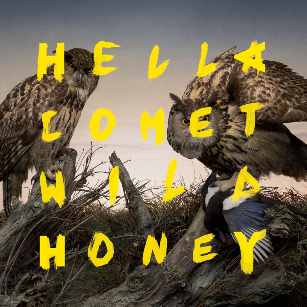 Hella Comet Band Music Wild Honey Album Artwork