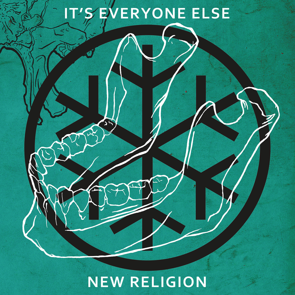 It's Everyone Else Band Music New Religion Album Cover Artwork