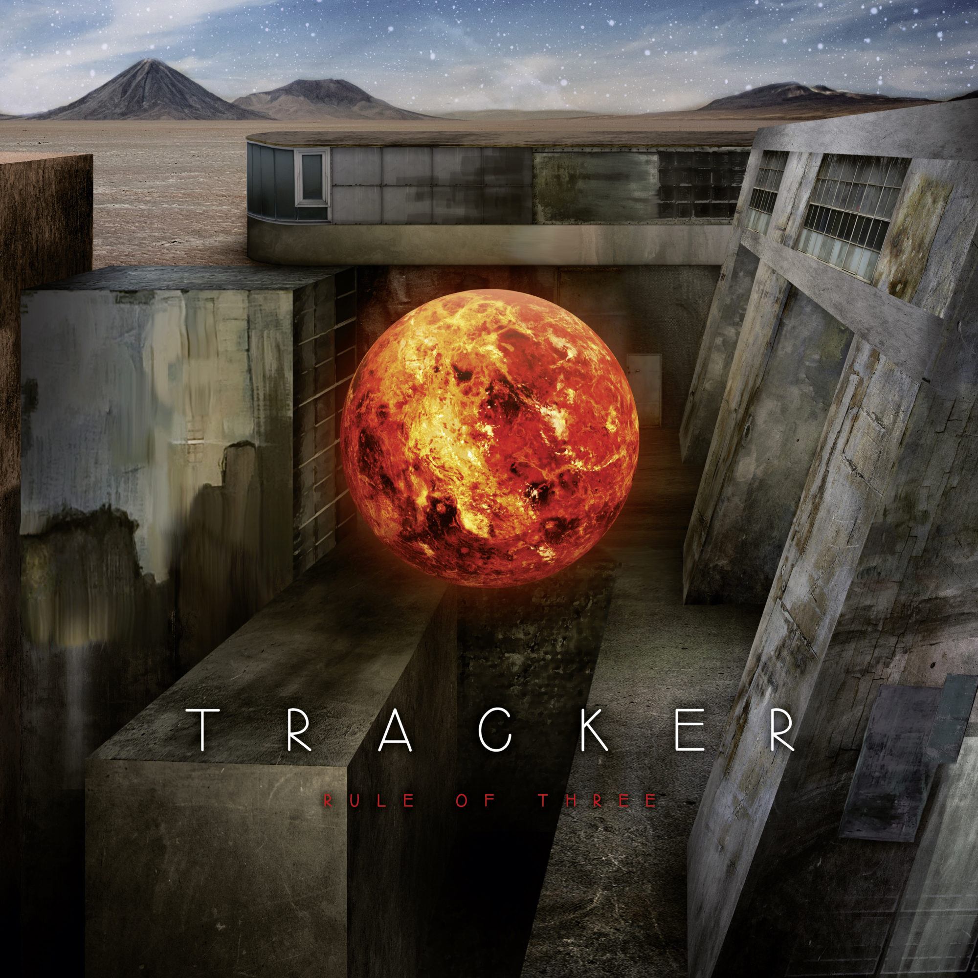 Tracker Band Music Rule of Three Album Cover Artwork Austria