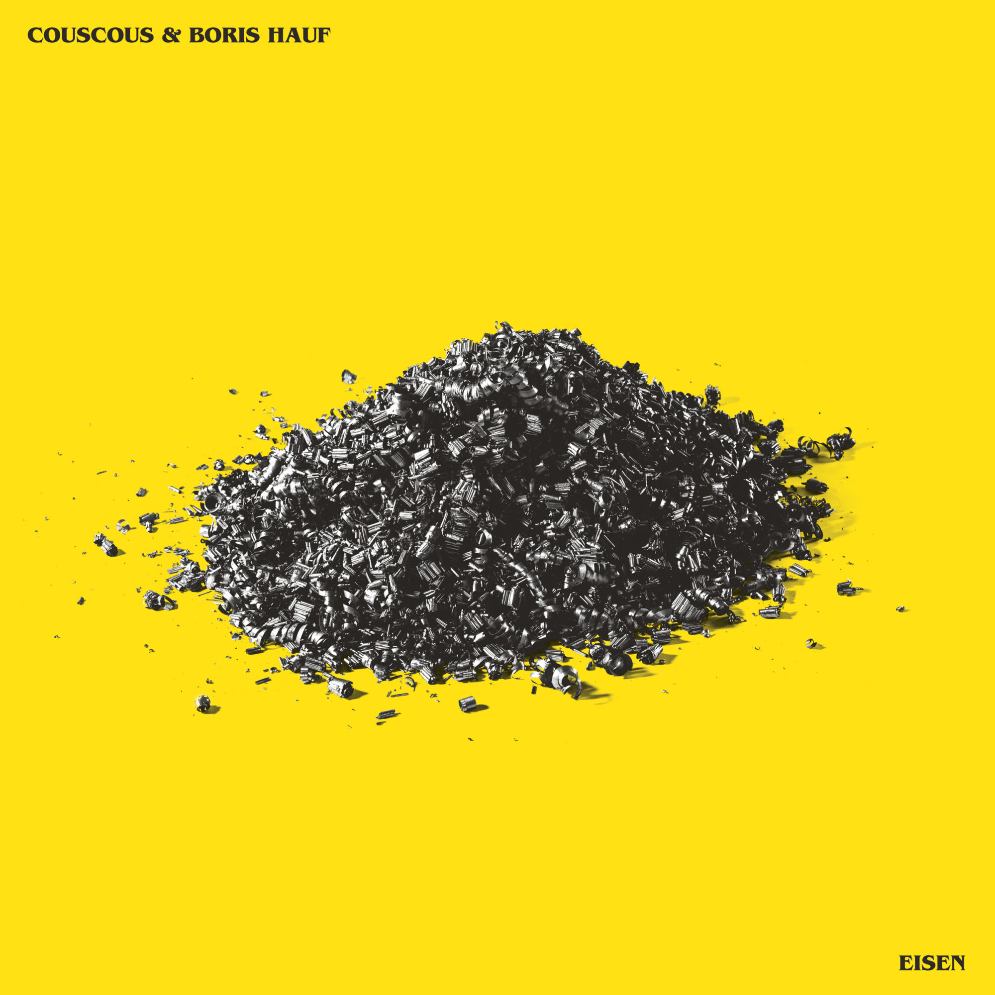 Couscous Band Boris Hauf Artist Eisen Album Vinyl Cover Music Austria