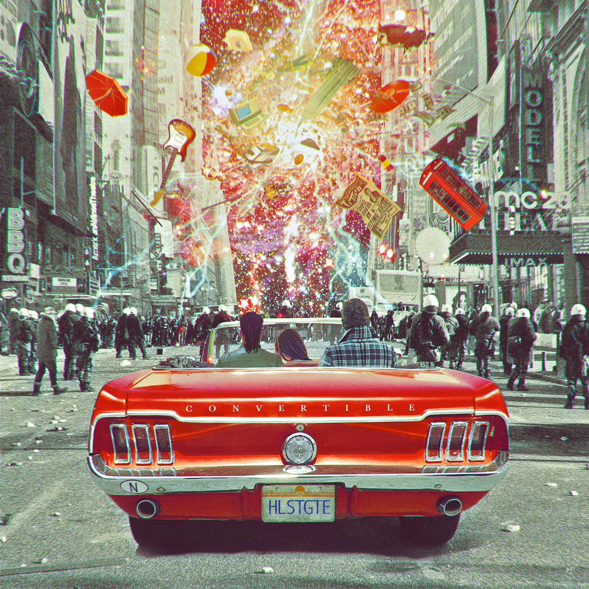 Convertible Band Holst Gate Hans Platzgumer Album Cover