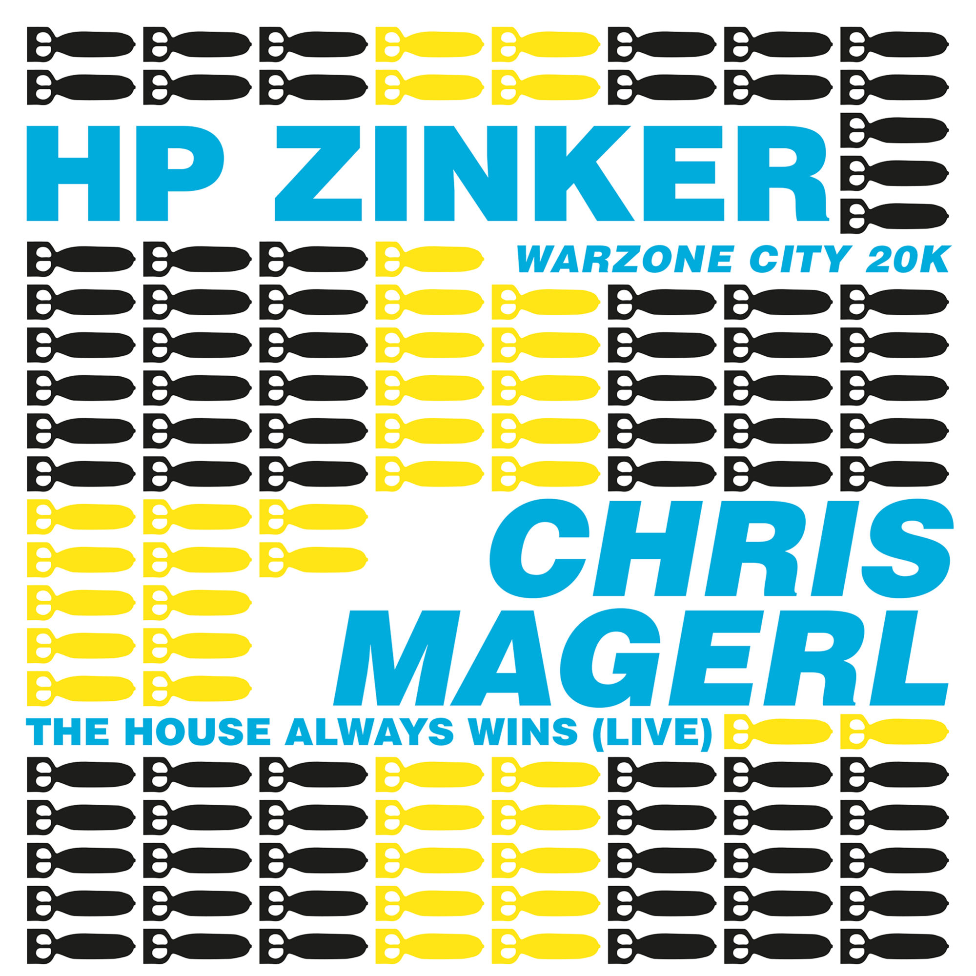 HP Zinker Band Chris Magerl Split Cover
